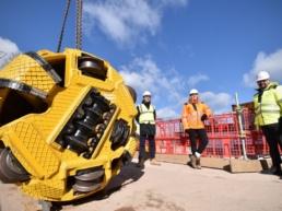 Chester drainage tunnel drill